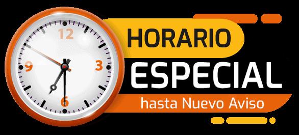 Horario Especial